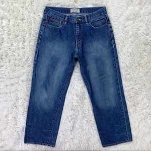 Men's Relaxed Straight Jeans 34 x 30